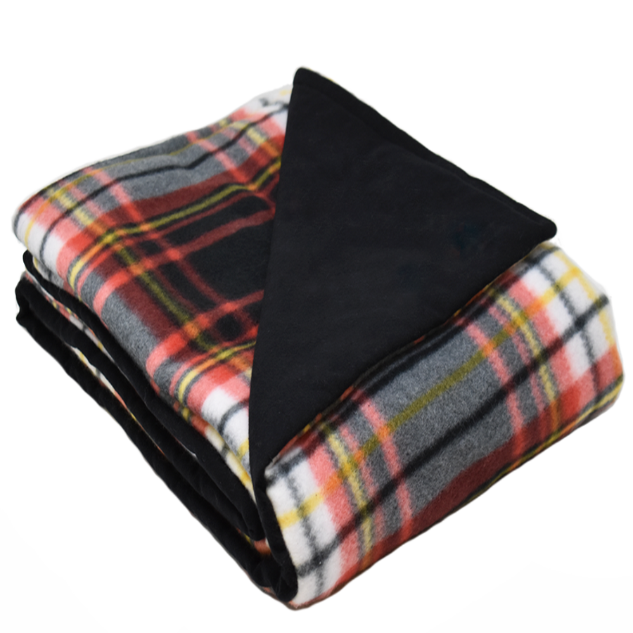 4LB DomingoMulti-Black Fleece and Flannel