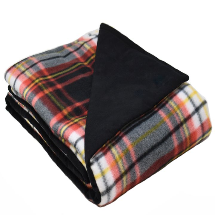 6LB DomingoMulti-Black Fleece and Flannel