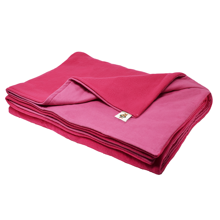 11LB Hot Pink (Deluxe) Fleece and Flannel