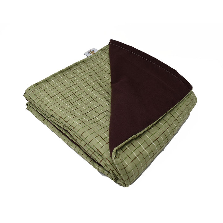 10LB  Lodge Plaid-Brown Cotton and Flannel