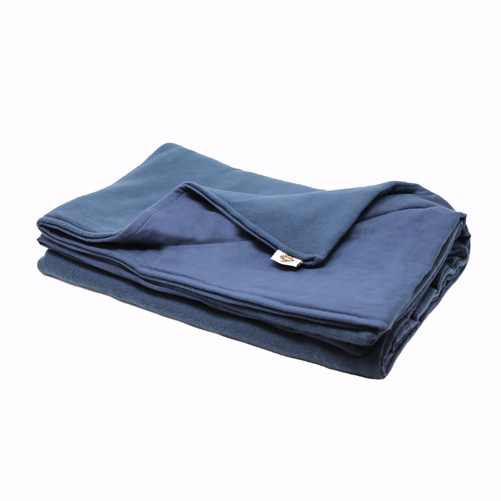 6LB Navy (Deluxe) Fleece and Flannel