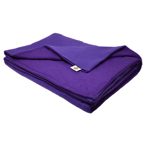 18LB Purple Fleece and Flannel