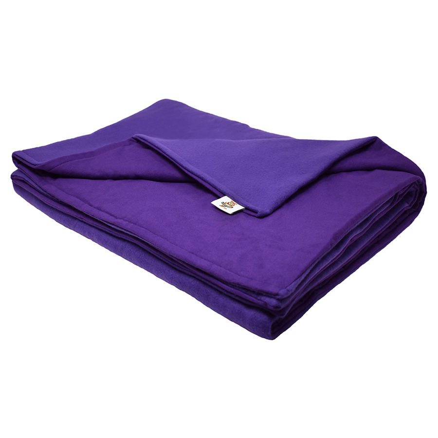 8LB Purple (Deluxe) Fleece and Flannel