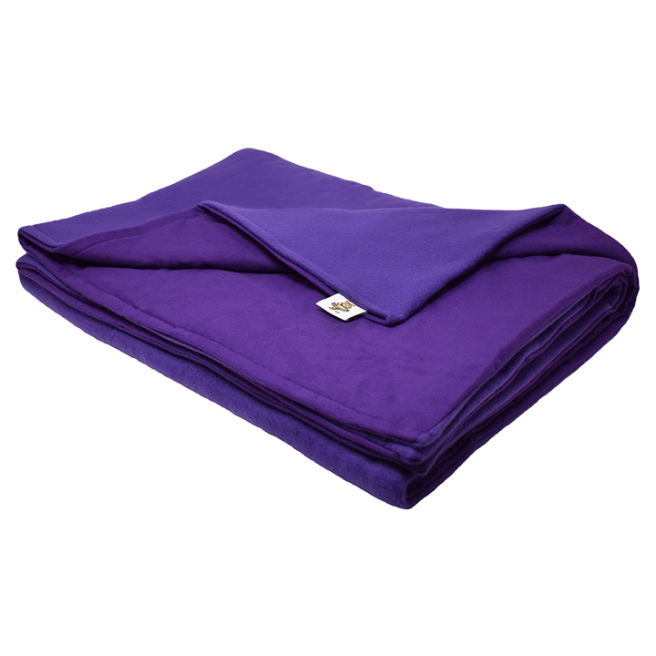 12LB Purple (Deluxe) Fleece and Flannel