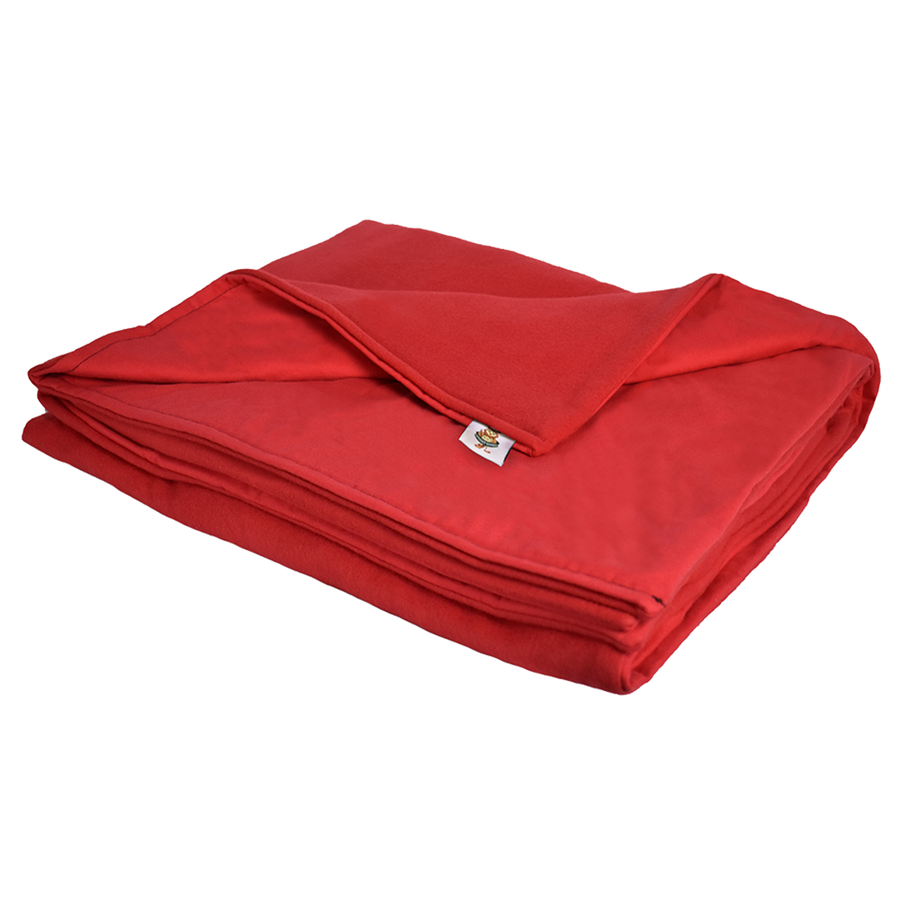8LB Red (Deluxe) Fleece and Flannel