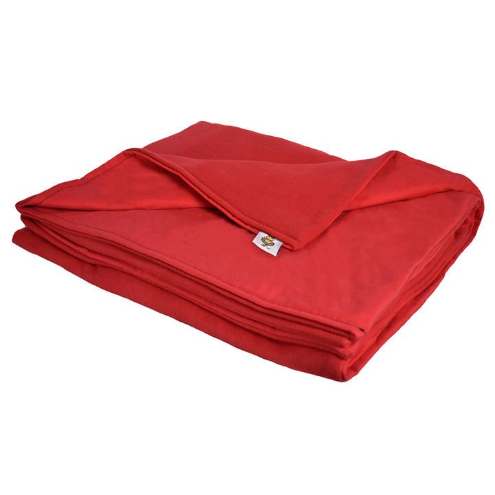 6LB Red (Deluxe) Fleece and Flannel