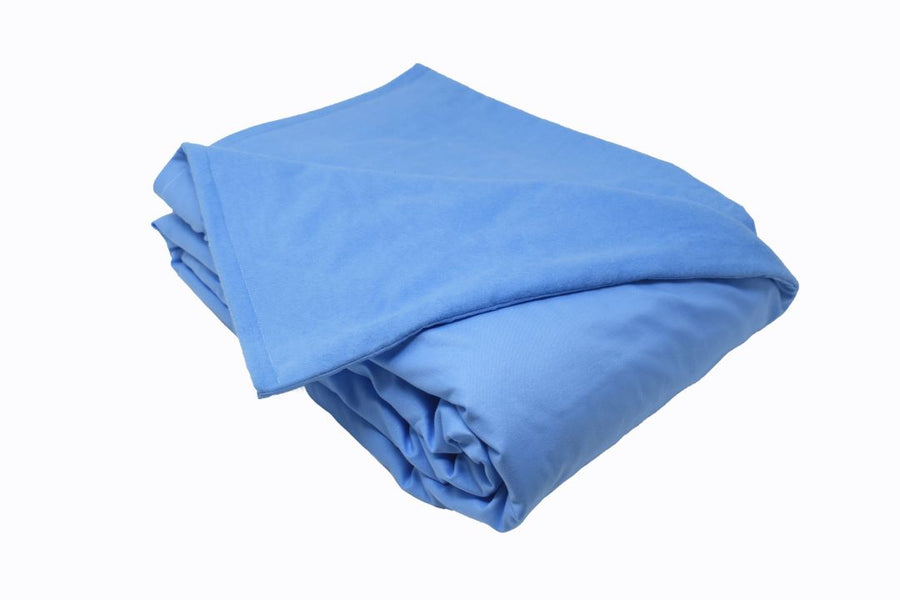 8LB Light Blue (Deluxe) Cotton and Flannel