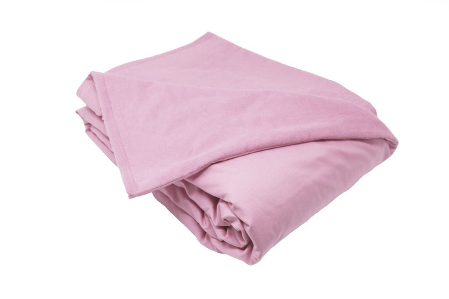 15LB Light Pink Cotton and Flannel