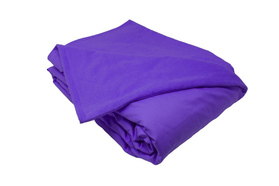 10LB Purple Cotton and Flannel
