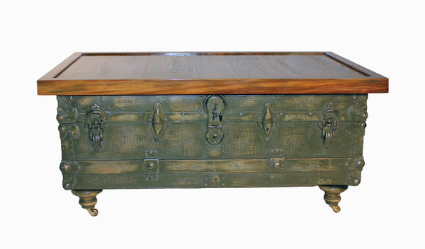 Antique Trunk Coffee Table – Established North