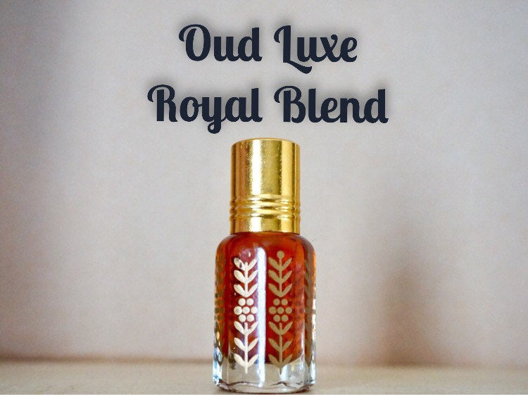 Oud Luxe Royal Blend unique oud, Handmade, Handmixed agarwood, attar, royal, unique, fragrance, high quality,handmade)