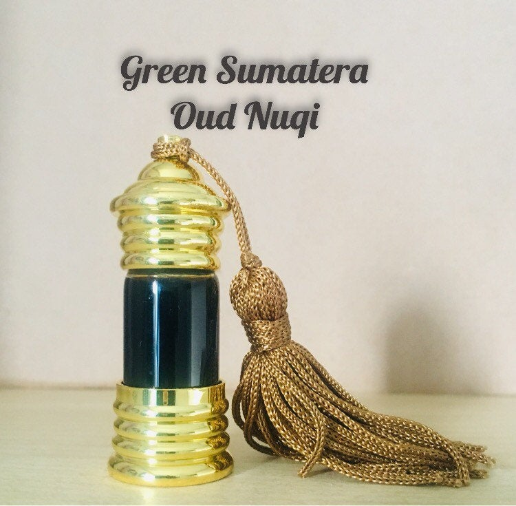 Green Sumatera Oud Nuqi 2.5ml(pure, oudh, valentines gift, rare, fragrance, scent, perfume, عود, agarwood, supreme quality)