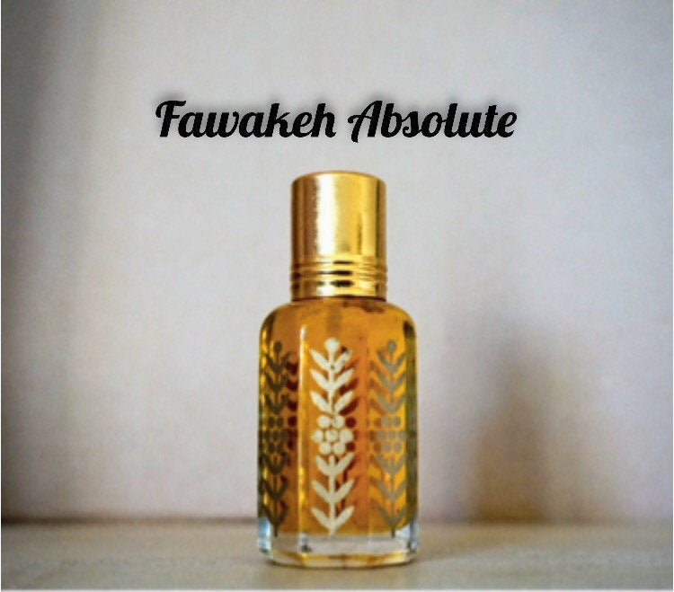 Fawakeh Absolute (musk scent, natural, non-alcoholic, fragrance, perfume)