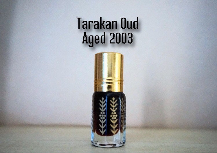 Tarakan Oud Aged 2003|oudh|agarwood oil|natural scent|fragrance|luxury fragrance|arabian natural oil| gaharu oil|perfume|gifts for him|gifts