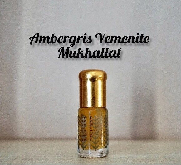 Ambergris Yemenite Mukhallat (rare, ambergris, fragrance, unique handmade hand mixed, musk, oil)