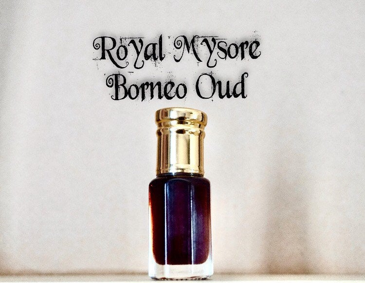 Royal Mysore Borneo Oud Mukhallat|exotic|natural fragrance oil|relaxation oil|fragrance|perfume|agarwood|bakhour|bakhoor|unisex perfume