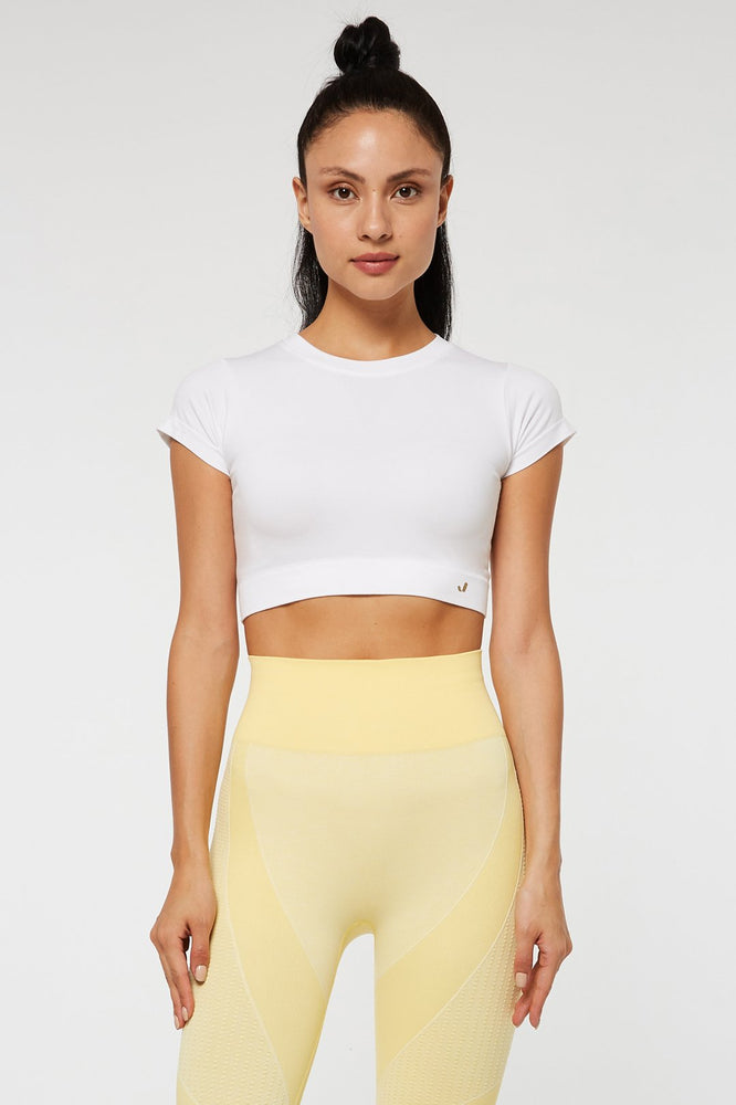Jerf Captiva White Crop Top