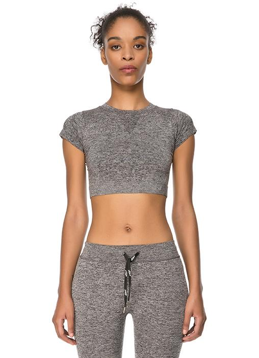 Jerf Captiva Grey Crop Top