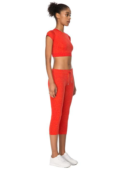 Jerf Captiva Red Crop Top