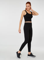 Jerf Darwin Wide Strap Crop Top Black