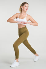 Jerf Gela Mustard Colour Leggings