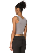 Jerf Linden Grey Crop Top