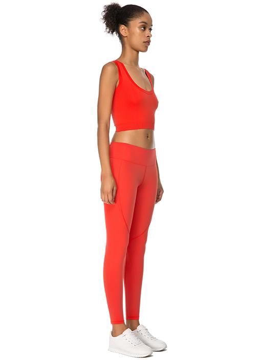 Jerf Linden Red Crop Top