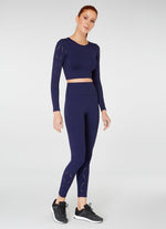 Jerf Naples Econyl Legging Navy Blue