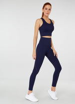 Jerf Sanibel Econyl Navy Blue Legging