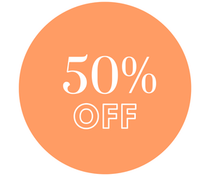 50% OFF - Larges