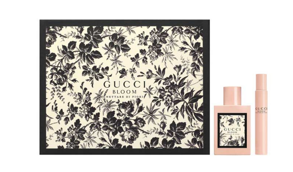 Gucci Bloom Nettare Di Fiori Gift Set 50ml EDP + 7.4ml EDP Rollerball