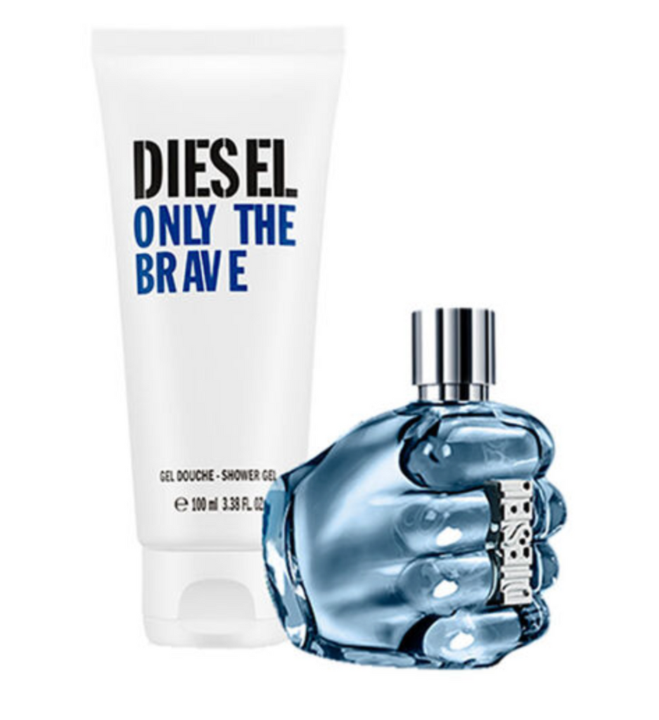 Diesel Only The Brave Street Gift Set 50ml EDT + 100ml Shower Gel