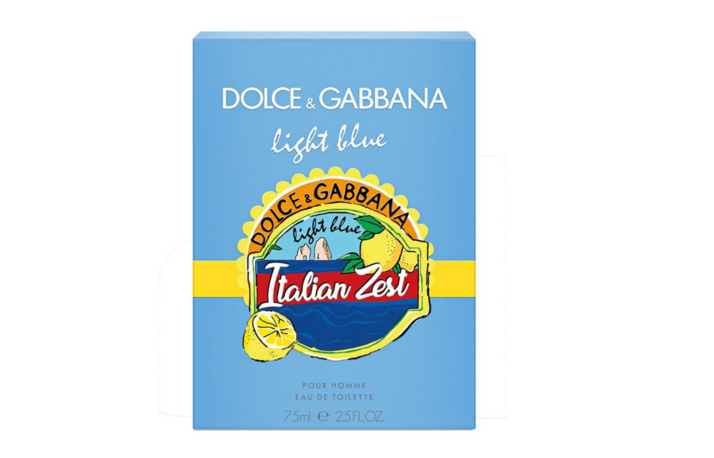 Dolce & Gabbana Light Blue Pour Homme Italian Zest Eau de Toilette 75ml Spray