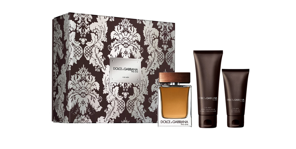 Dolce & Gabbana The One Gift Set 100ml EDT + 50ml Aftershave Balm + 50ml Shower Gel
