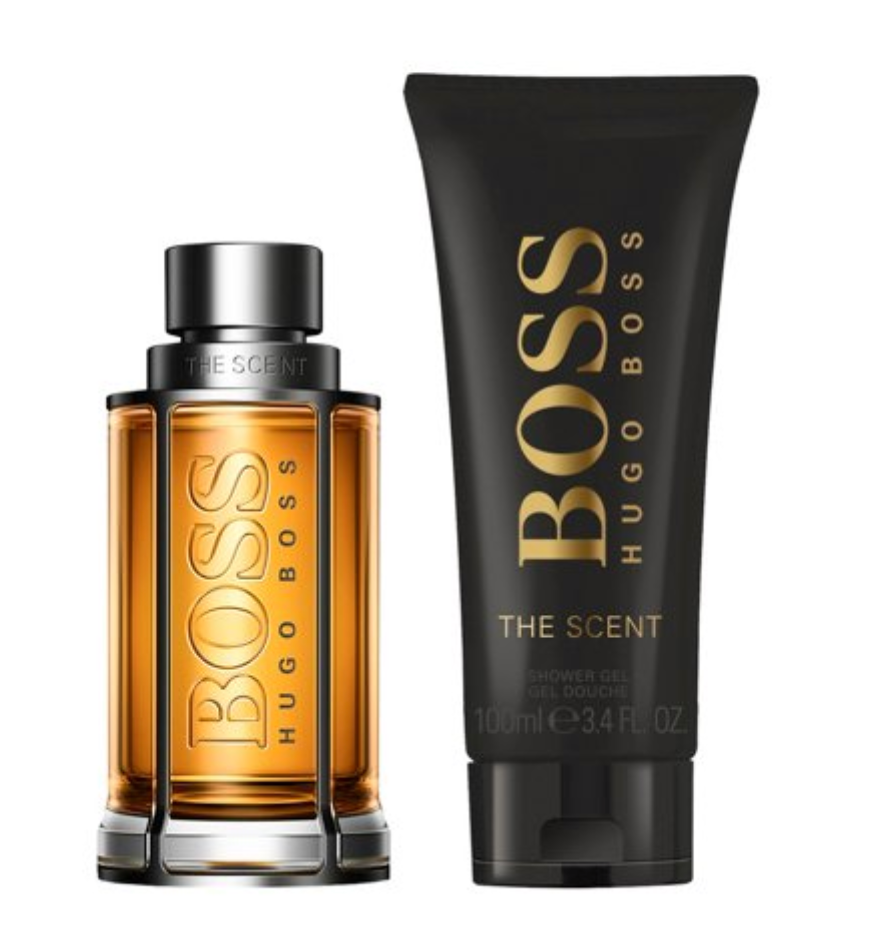 Hugo Boss Boss The Scent Gift Set 50ml EDT Spray + 100ml Shower Gel