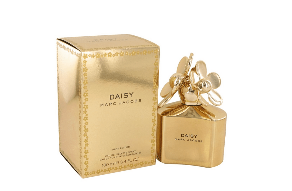 Marc Jacob Daisy Shine Eau de Toilette 100ml Spray - Gold Edition