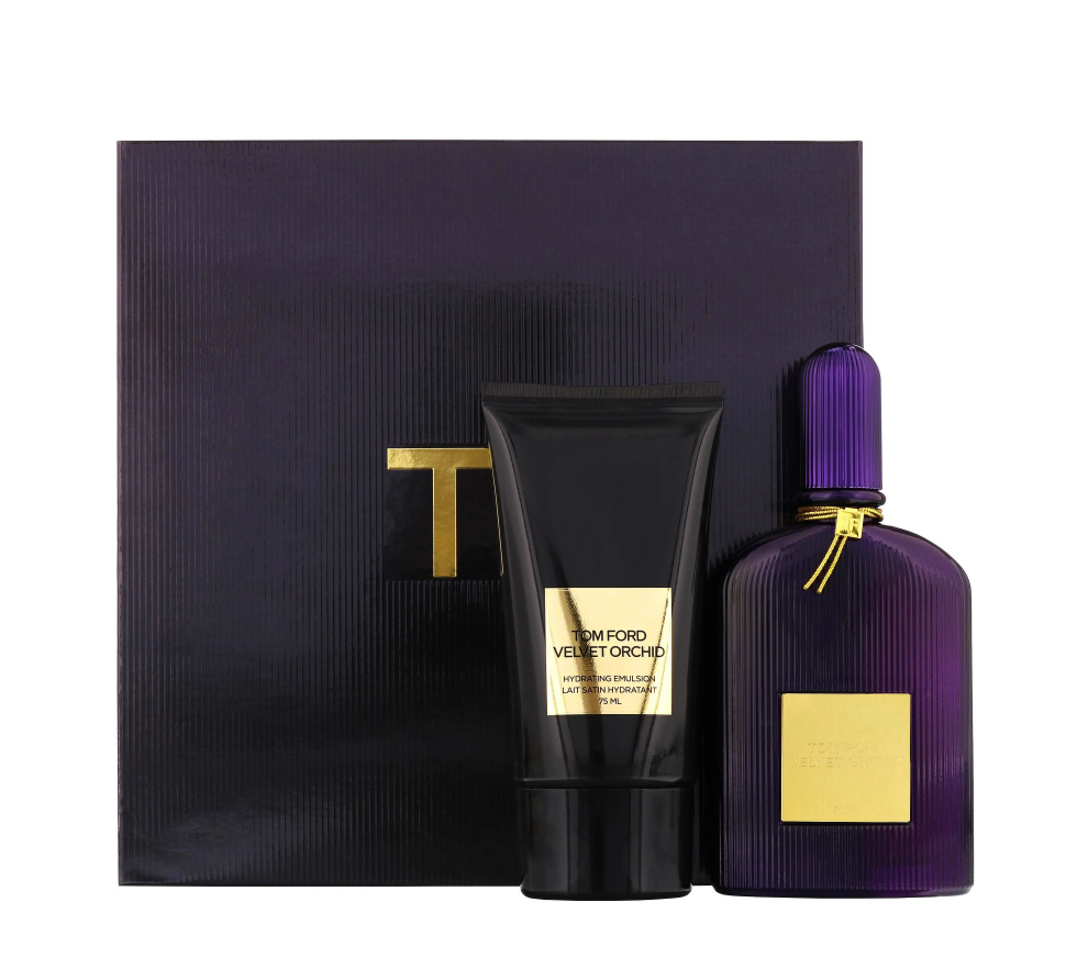 Tom Ford Velvet Orchid Gift Set 50ml EDP + 75ml Hydrating Emulsion