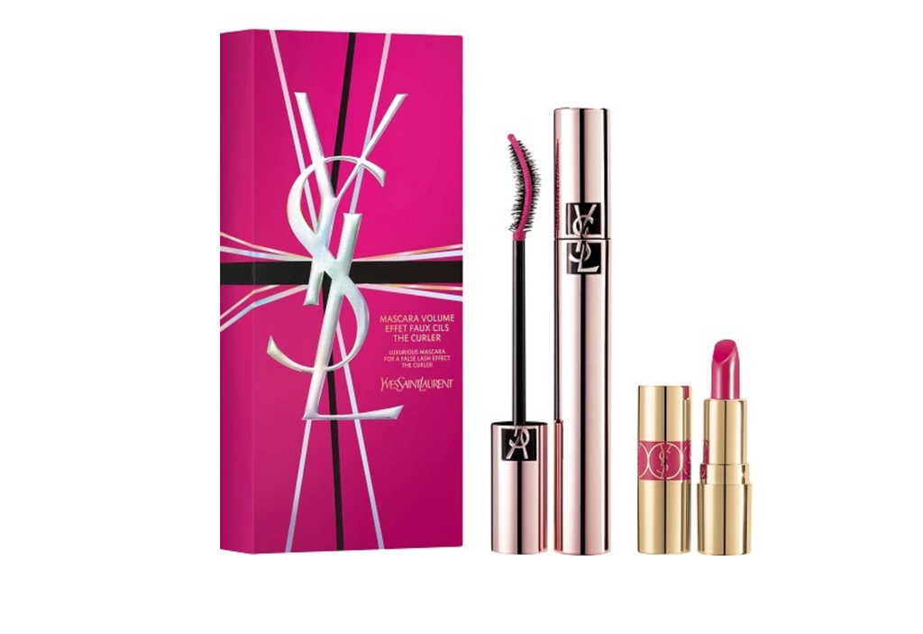 Yves Saint Laurent Cosmetics Gift Set 6.6ml Mascara + 1.6g Lipstick