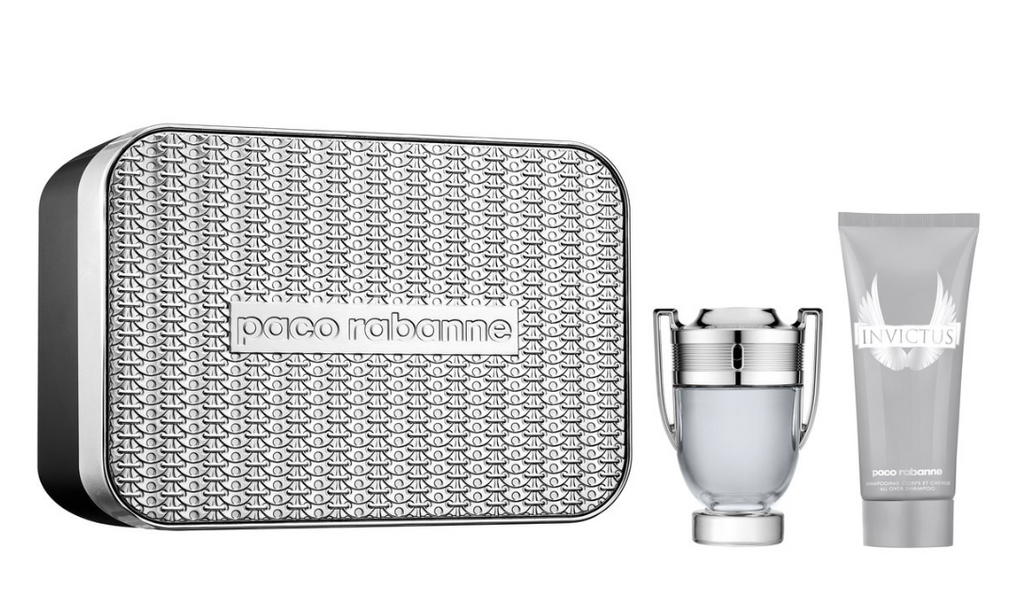 Paco Rabanne Invictus Gift Set 100ml EDT + 150ml Deodorant Spray