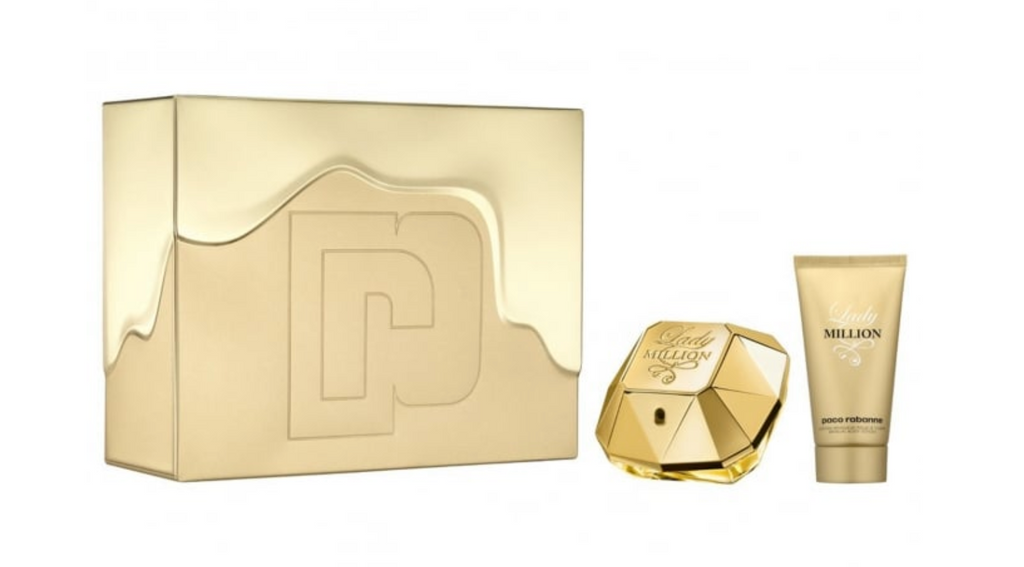 Paco Rabanne Lady Million Gift Set 50ml EDP + 75ml Body Lotion