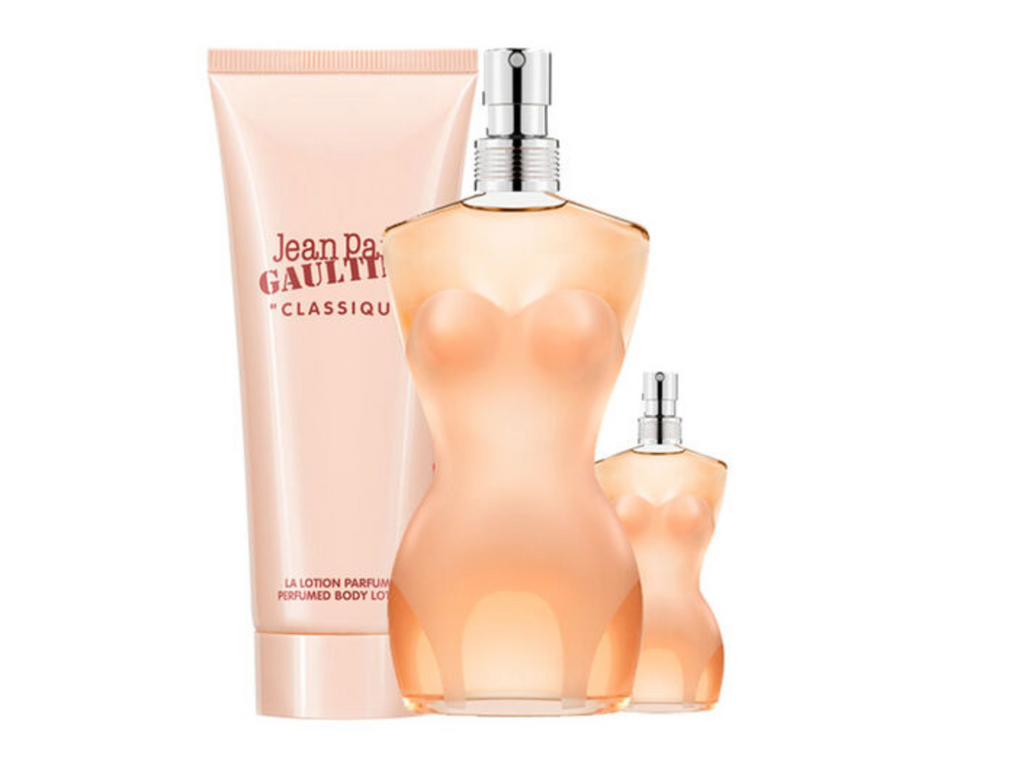 Jean Paul Gaultier Classique Gift Set 100ml EDT + 75ml Body Lotion