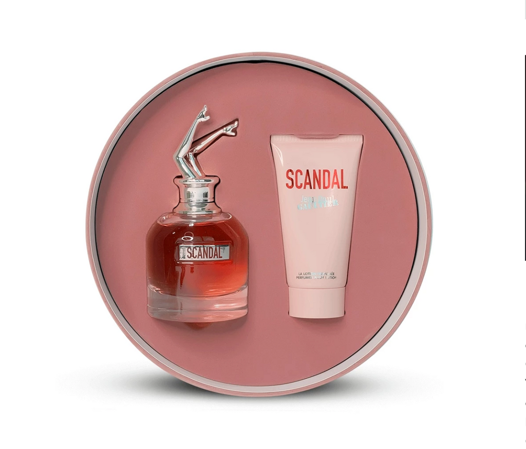 Jean Paul Gaultier Scandal Gift Set EDP 80ml + Body Lotion 75ml