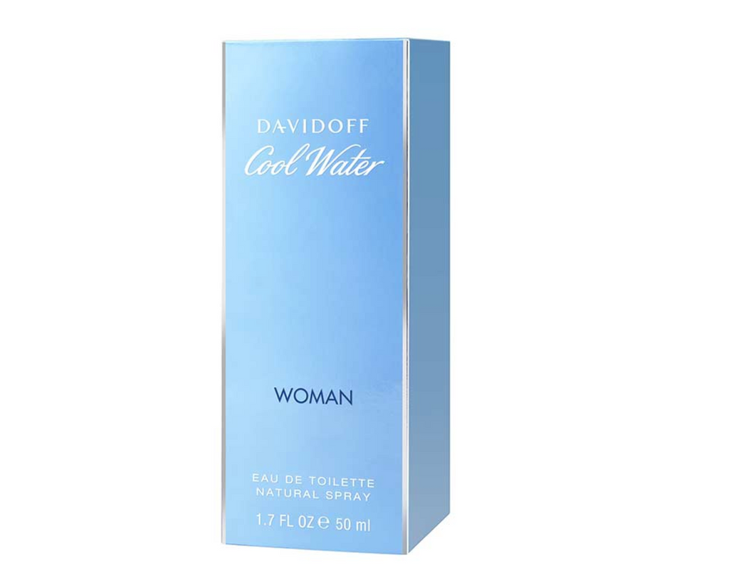 Davidoff Cool Water Woman Eau de Toilette 50ml Spray
