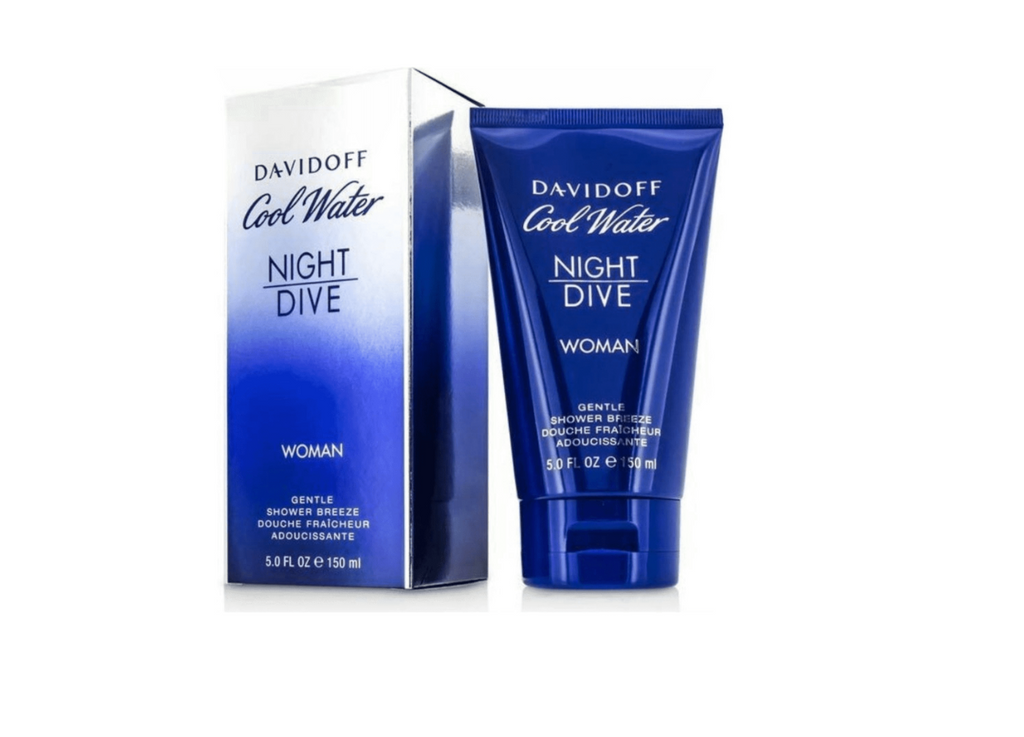 Davidoff Cool Water Woman Night Dive Shower Gel 150ml