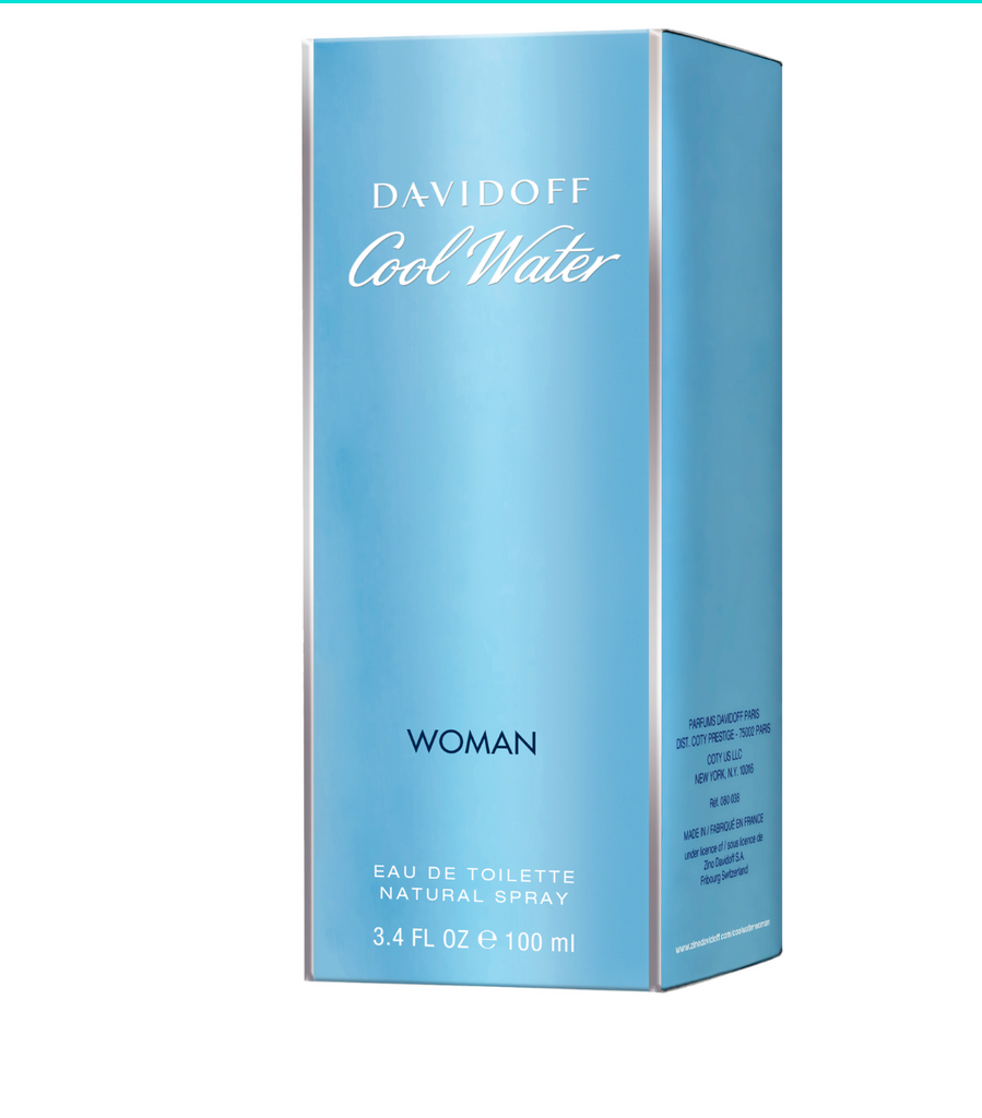 Davidoff Cool Water Woman Pure Pacific Eau de Toilette 100ml Spray