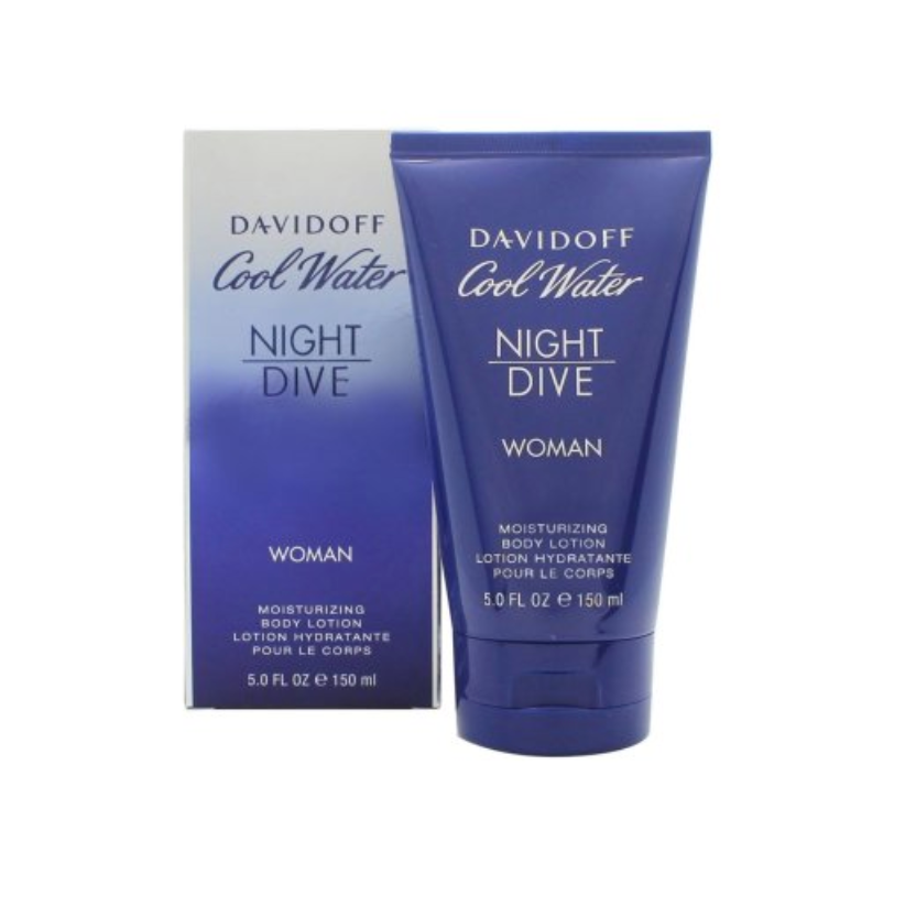 Davidoff Cool Water Women Night Dive Body Lotion 150ml