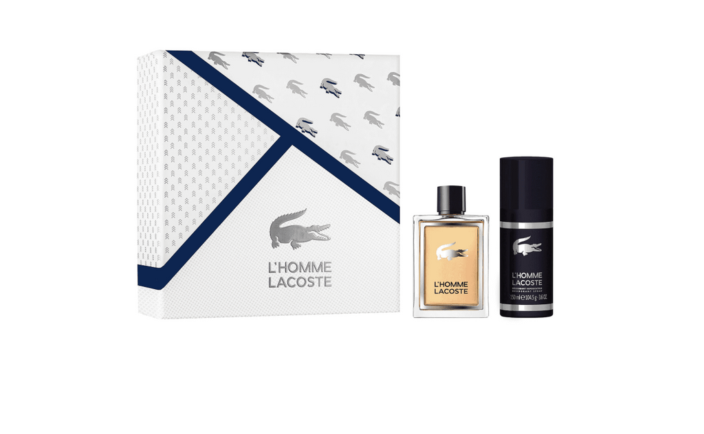 Lacoste L Homme Gift Set 100ml EDT + 150ml Deodorant Spray