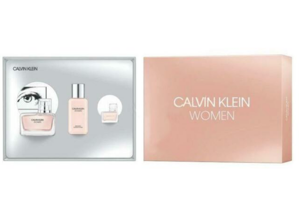 Calvin Klein Women Gift Set 50ml EDP + 100ml Body Lotion + 5ml EDP