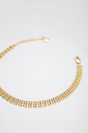 BROKER CHOKER [GOLD]
