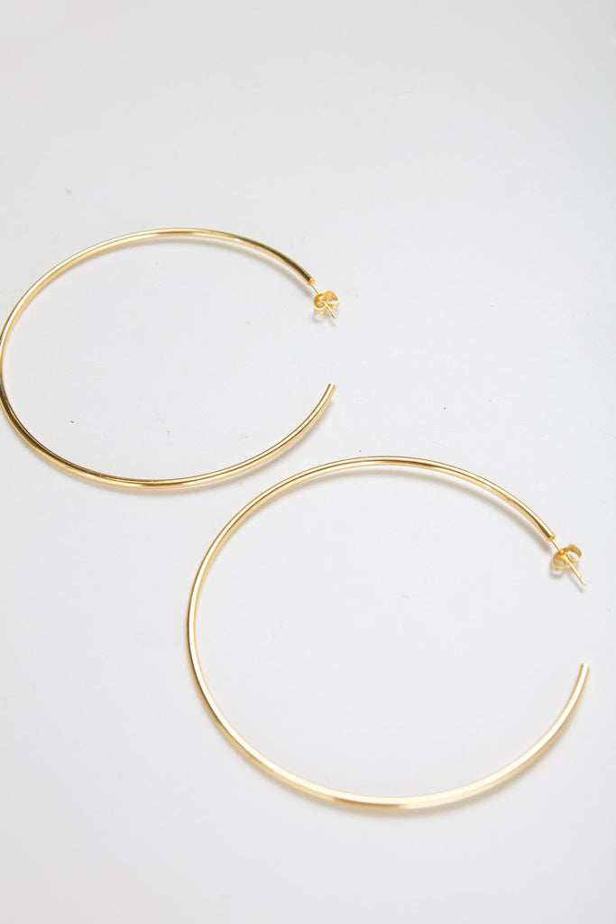 CISCO HOOP THIN [GOLD]